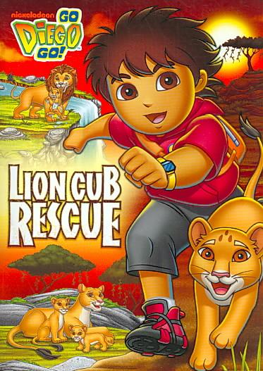 GO, DIEGO, GO!:LION CUB RESCUE BY GO DIEGO GO (DVD)